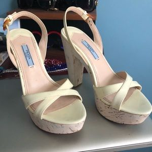 Prada Shoes - Bought for my wedding but didn't end up wearing.